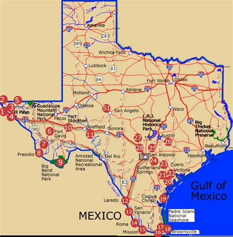 santo texas map flatmaptexas south and west texas a national register of historic places travel itinerary