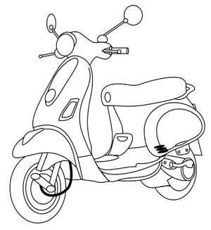 Rautan Stationary Set 3304 Pony Vespa free scooter digital st set templates patronen