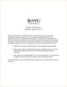 Graduate School Admission Appeal Letter Cover Letter For College Admissions