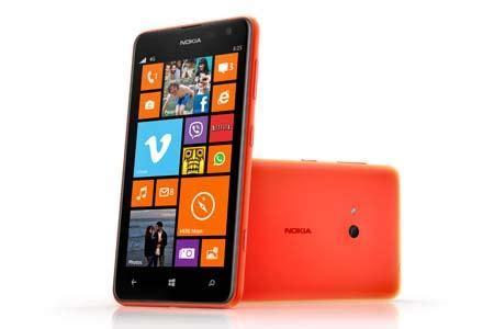 nokia lumia 625 windows phone 8 smartphone announced