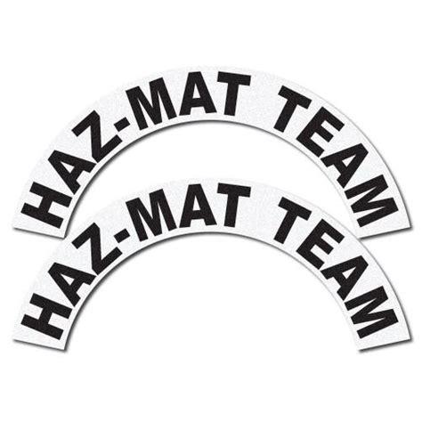 Haz Mat Team by Crescents Set Haz Mat Team The Bravest Decals