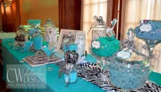 Blue Buffet Table Blue Buffet Cw Distinctive Designs