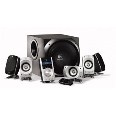 review logitech z5500 5 1 pc home theater speakers daydull