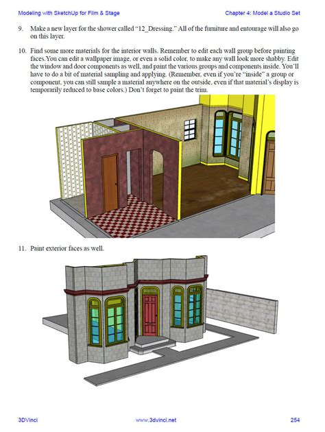 sketchup book new book modeling with sketchup for entertainment design