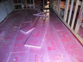 Floor Vapor Barrier by Ronse Massey Developments Basement Floor Insulation And