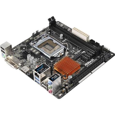 Asrock H110m Gl D3 Lga1151 H110 Ddr3 asrock h110m itx d3 lga1151 mini itx motherboard h110m itx d3 mwave au