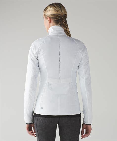 Flowink Hoodie Combi Runnink Metric Jacket Lululemon Run For Cold Jacket White Lulu Fanatics