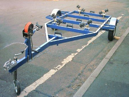 diy boat trailer winch post how to build a simple boat trailer racing dinghy designs