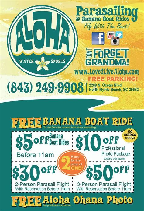 banana boat ride myrtle beach south carolina 9 best featured myrtle beach businesses images on