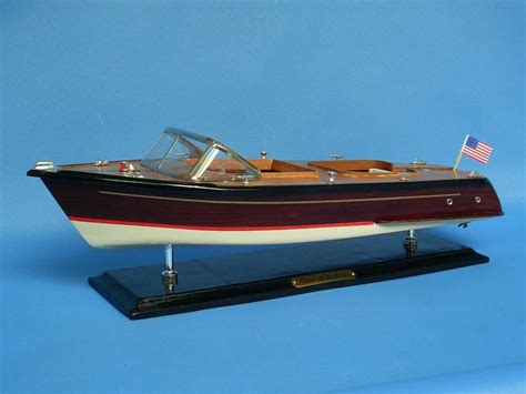 runabout boat top speed wholesale wooden chris craft runabout model speedboat 20in