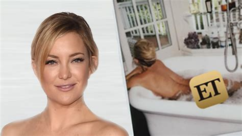 topless bathtub nsfw kate hudson shows her bare butt while lying naked in