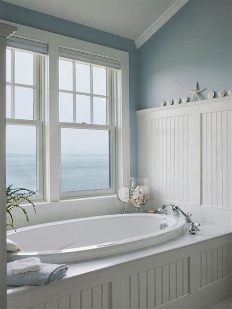 Beachy Bathrooms Ideas | escape the winter blues with these gorgeous beach