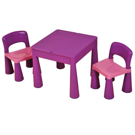 children s multi purpose table and chairs children s multi purpose table and chair set purple
