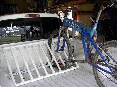 Pvc Pipe Rack by Pvc Pipe Bike Rack Barn Garden