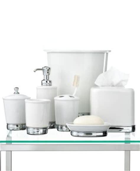 interdesign bath accessories york trash can bathroom