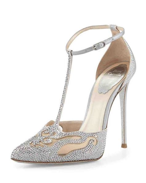 Wedding Shoes With Crystals by Closed Toe Evening Shoes To Rock For Your Winter Wedding