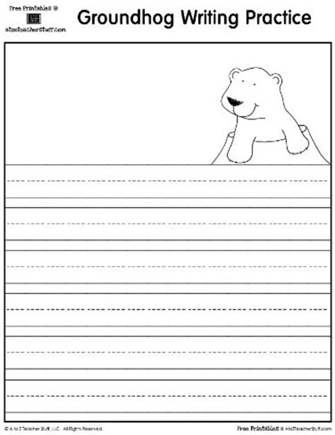 groundhog day writing paper 1000 images about teaching groundhog day on
