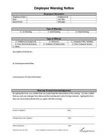 employee warning notice template search results for employee warning notice template