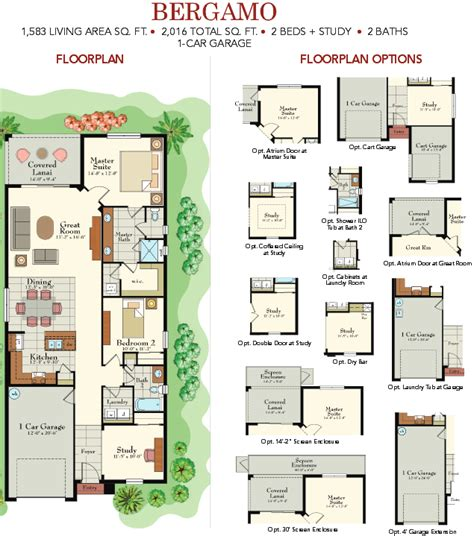 solivita floor plans solivita garden collection floorplans
