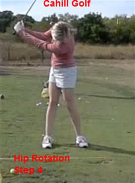 golf swing hip rotation drill golf tips hip rotation cahill golf instruction