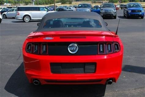 Mustang Auto Repair Cicero by Find Used Gt Convertible 5 0l Automatic Race Red 13 300