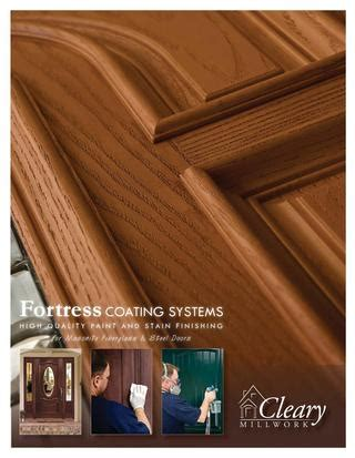 fortress coating systems by horner millwork issuu