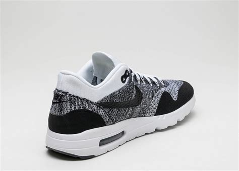 Nike Air Max 1 Ultra Flyknit Black nike air max 1 ultra flyknit white black black asphaltgold