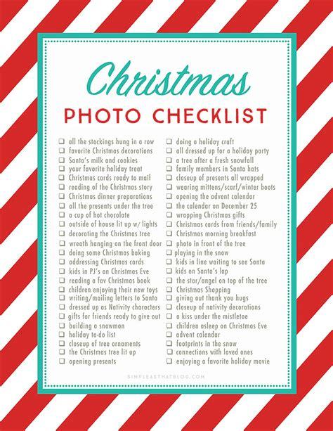 50 photos to take this christmas