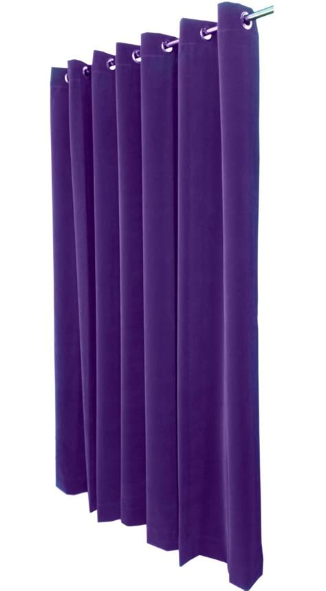 extra long grommet curtains purple 14 ft extra long velvet curtain panel w grommet top
