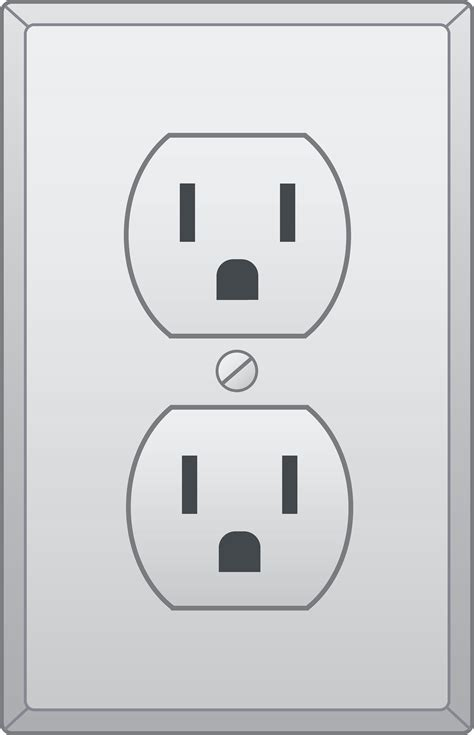 electrical outlet free clip