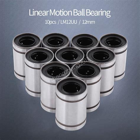 Linear Bearing Bushing Lm12uu 10pcs 12mm lm12uu linear machinery linear