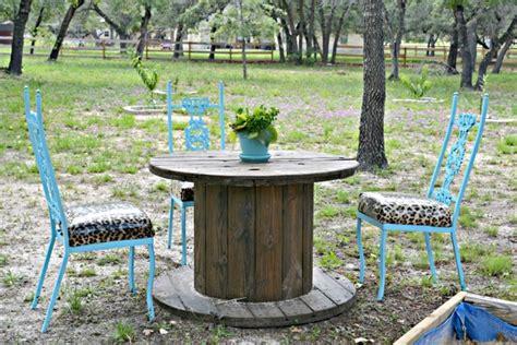 Tisch Aus Kabelrolle by Coole Gartenm 246 Bel Inspiration Mit Diy Gartentisch Rund Aus
