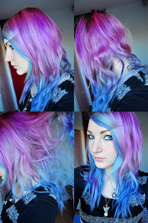 How To Dye Your Hair Purple Fade Results With 28 More Ideas