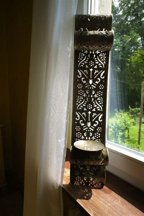 wand windlicht kerzenhalter wandkerzenhalter arabeske windlicht mit schattenspiel