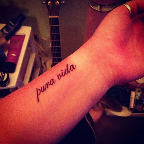 pura vida tattoo pura vida like the font but would get a