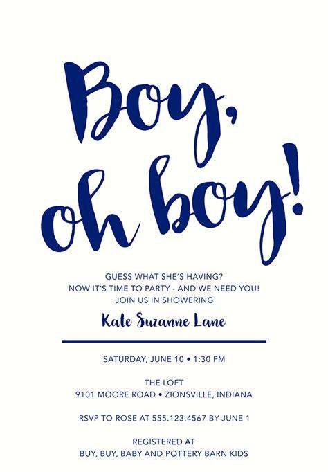 Boy Baby Shower Invite Wording by 22 Baby Shower Invitation Wording Ideas