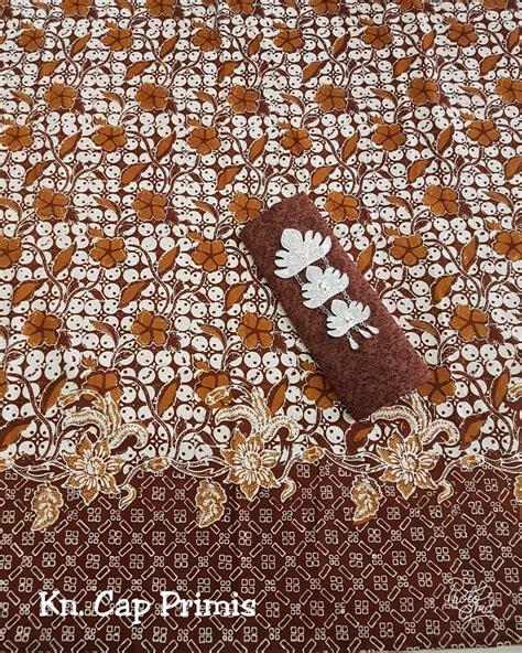 Kain Batik Prada Primis Embos by Jual Kain Batik Cap Pekalongan Katun Halus Berbagai
