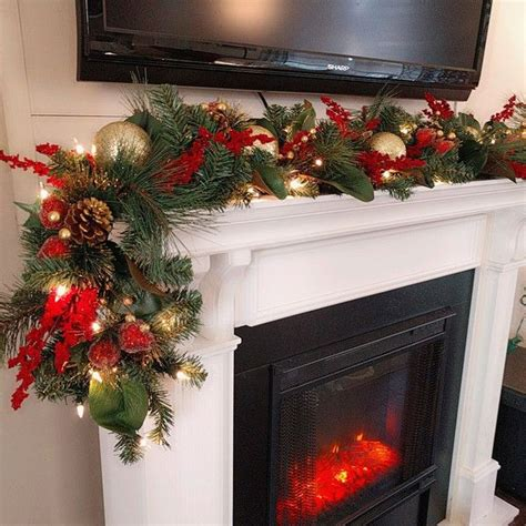 17 best ideas about pre lit christmas garland on pinterest