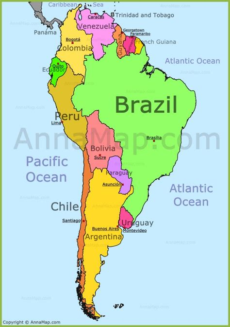 map usa and south america south america map annamap