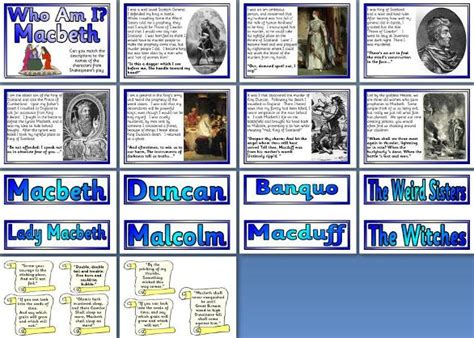 themes in macbeth lesson plan literacy resource william shakespeare s macbeth