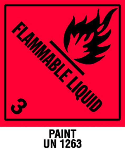 warning flammable liquid with note label best price