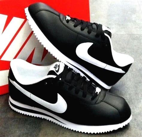imagenes zapatos nike cortez nike cortez basic leather black white athletic sneakers