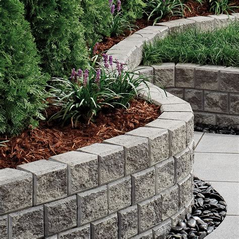 Interior Decorative Cinder Blocks Retaining Wall Garden Wall Retaining Blocks