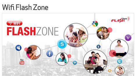cara daftar dan tarif wifi flash zone telkomsel