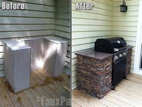 bbq island design clad barbecues in faux rock or brick