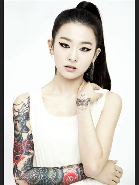 kpop idols with tattoos 321 best images about tattooed kpop idols on