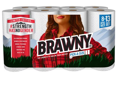 Who Makes Brawny Paper Towels - the maker of brawny 174 celebrates women s history month by