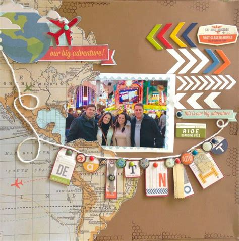 Scrapbook Theme Book Of Firsts by 25 Best Ideas About Scrapbook Travel Album On