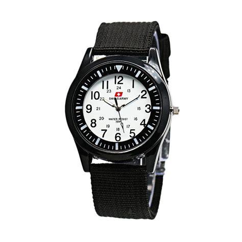 Jam Tangan Wanita Hush Puppies Romawi Bulat Putih harga swiss army jam tangan pria putih kanvas hitam sa 0025 m pricenia