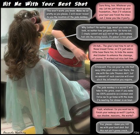 women haircut by husband stories husband feminization in hair salon
